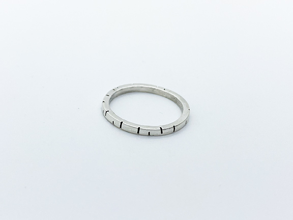 taraelaina silver stacking ring