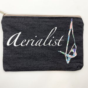 Aerialist makeup accessory pouch